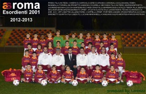 Esordienti 2001 As Roma - 2012/13